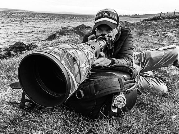 Portrait du photographe Grec Lecoeur
